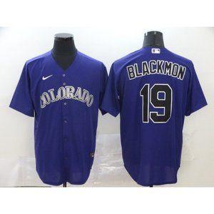 Colorado Rockies Charlie Blackmon Purple Jersey